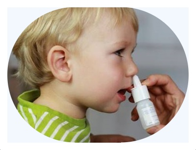 Child flu nasal spray