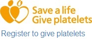 Register to give platelets